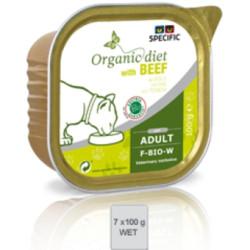 Specific Feline Diet F-BIO-W organic ternera