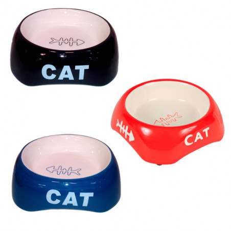Comedero Cerámico CAT Colores