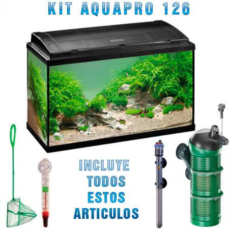 Kit Acuario Eheim Completo Aquapro 126L