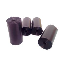Bolsas negras para excrementos de perro. 80 unidades