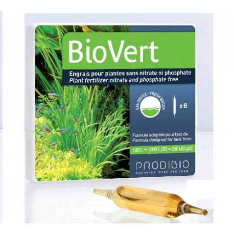 BioVert Abono Para Plantas 6 Ampollas