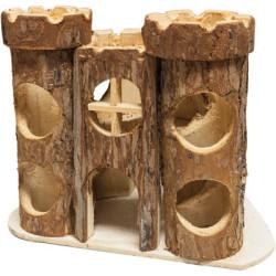 Casita Castillo Para Hamster y Jerbo