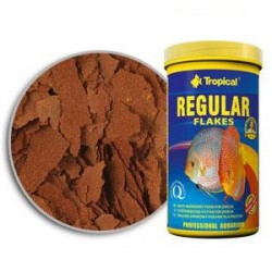 Tropical Regular Flakes Para Discus