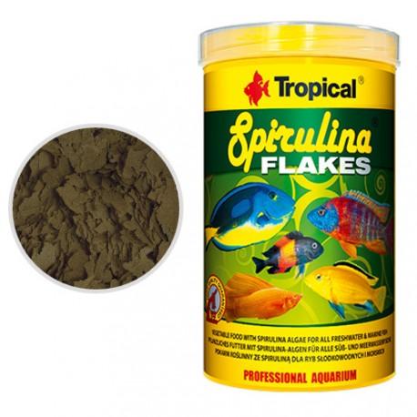 Tropical Spirulina Flakes Alimento Para Peces