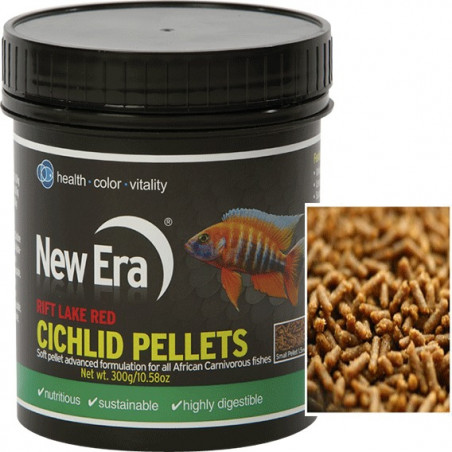 New Era Rift Lake Cichlid Pellets Red