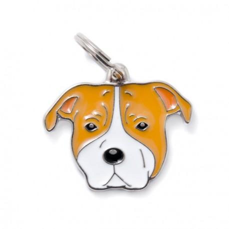 Placa Identificativa Perro American Staffordshire