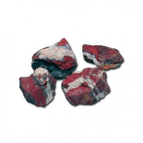 Piedra Jasper Rojo Decoracion Acuario
