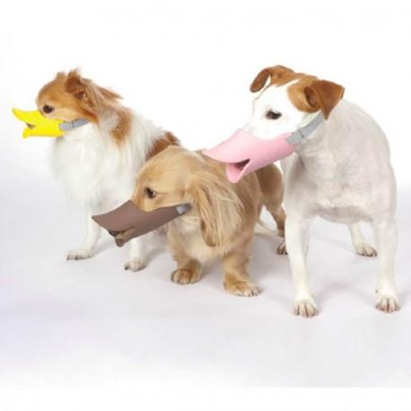 Bozal Pato Silicona Para Perros