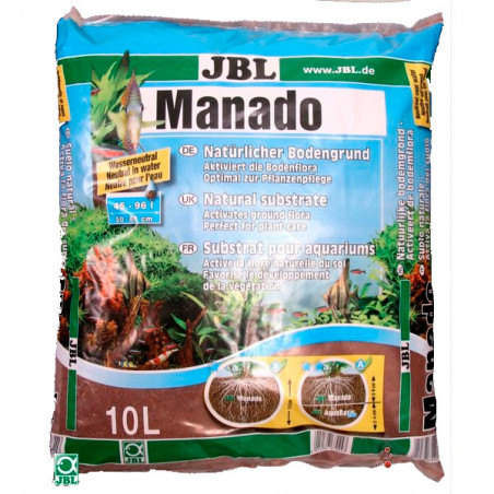 Substrato JBL Manado Suelo Natural