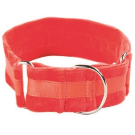 Collar Para Galgos Suaves Rojo