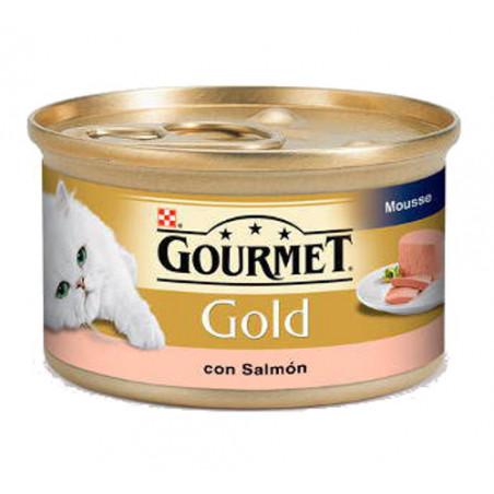 Friskies Gourmet Gold Mousse Salmon 85gr