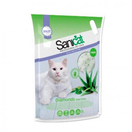 Arena Silice Sanicat Diamonds Aloe Vera