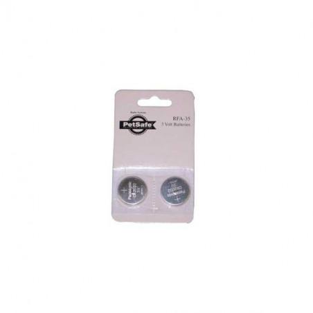 Pack de 2 pilas Collares PetSafe RFA-35-11