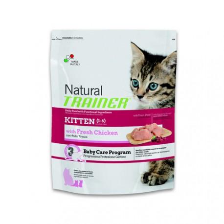 Natural Trainer Feline Kitten Sabor Pollo