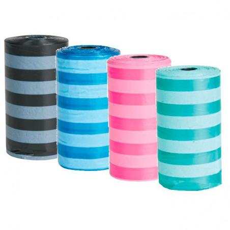 Bolsitas Recambio Dispensador Hueso 4 Rollos Colores diferentes
