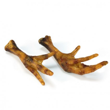 Snack Patas de Pollo Natural Para Perro