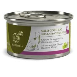 Equilibria Monoproteico 100% Carne de Conejo 85grs