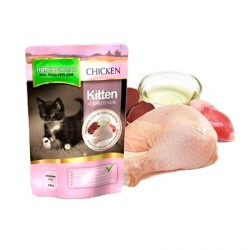 Natures Menu Pouches Gatitos pollo