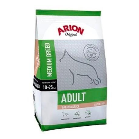 Arion Original Adulto Razas Medianas Salmon y Arroz
