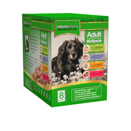 Multipack Pouches Natures Menu Perros