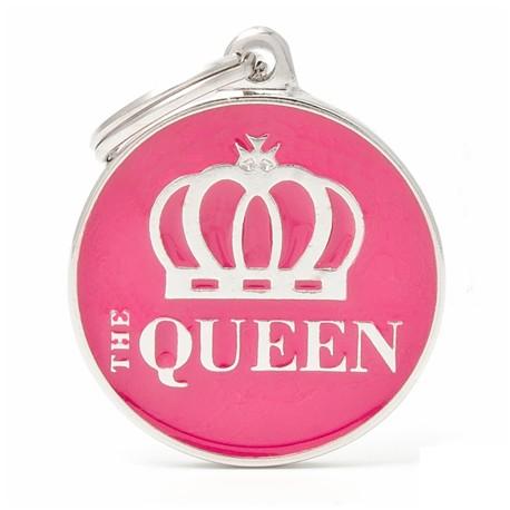 Placa Identificativa Perro The Queen
