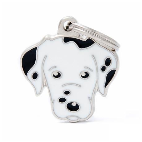 Placa Identificativa Perro Dalmata