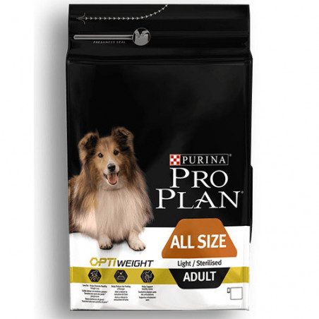 Purina Pro Plan Adult Light OptiWeight All Size