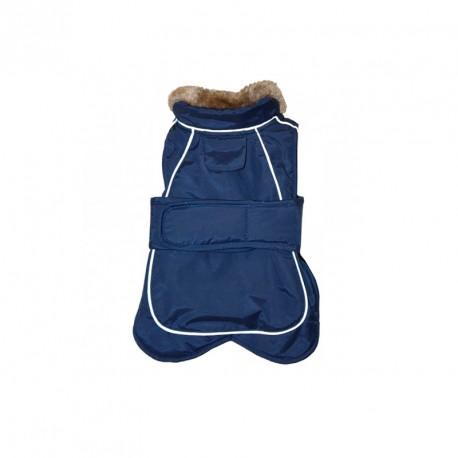 Abrigo Go Walk Termico Azul Para Perros Grandes