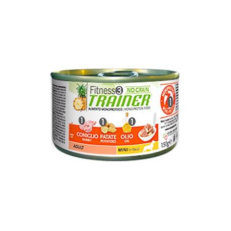 Lata Fitness3 Trainer Adult Mini Conejo, Patatas, Aceite
