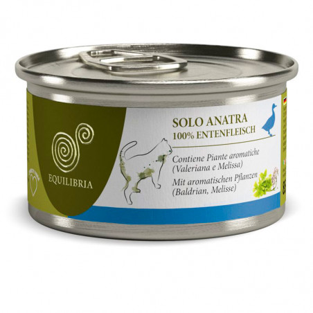 Equilibria Monoproteico 100% Carne de Pato 85grs