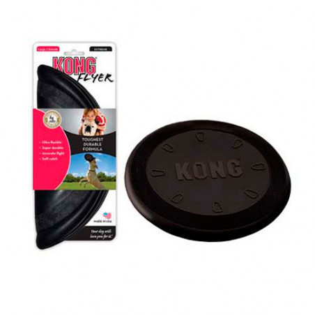 Kong Flyer Frisbee Extreme Perros Robustos
