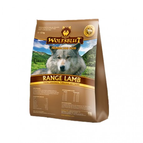 Wolfsblut Range Lamb Cordero y Arroz