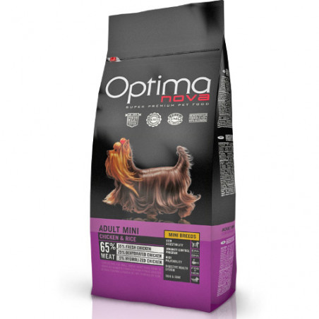 Optima Nova Adulto Mini Pollo y Arroz