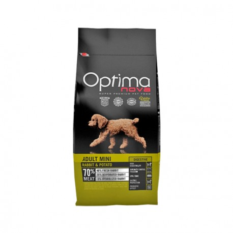 Optima Nova Adult Mini Conejo y Patata
