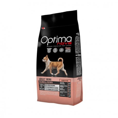 Optima Nova Adult Mini Sensitive Salmon y Patata