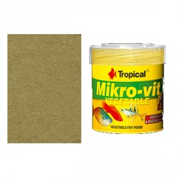 Tropical MikroVit Vegetable Para Alevines