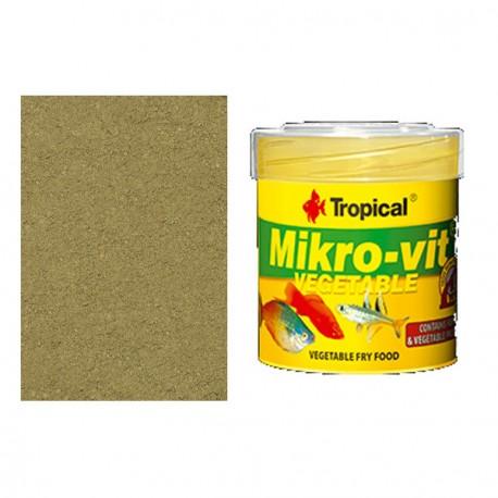 Tropical MikroVit Vegetable Para Alevines