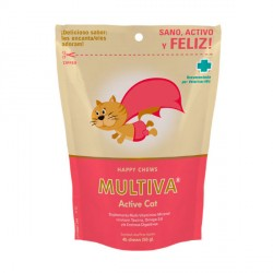 Multiva Active Cat Suplemento Multi-Vitamínico para gatos