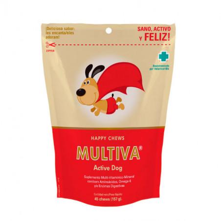 Multiva Active Dog Suplemento Multi-Vitamínico-Mineral para perros