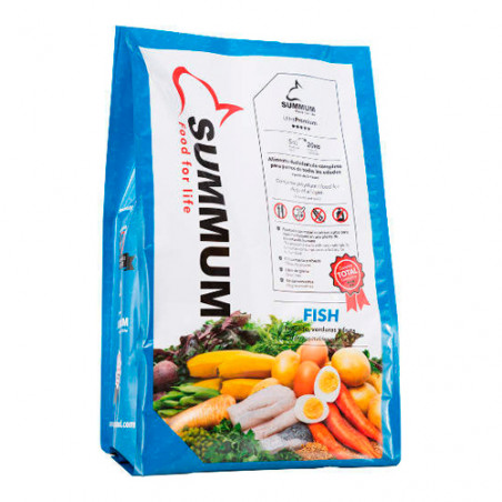 Alimento para perros Summum Fish Deshidratado