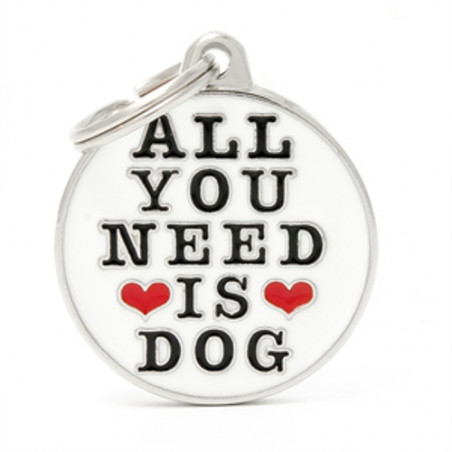 Placa Identificativa All You Need is Dog