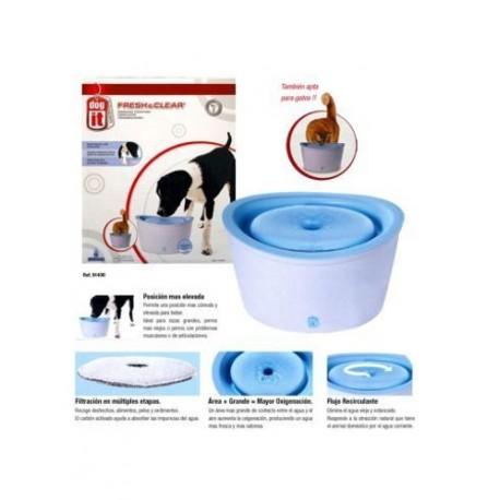 Filtro Fuente Bebedero para Perros y Gatos 6L