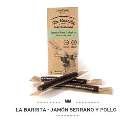 Mediterranean Snack La Barrita Jamón Serrano y Pollo
