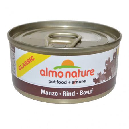 Almo Nature Classic Buey Gatos 70g
