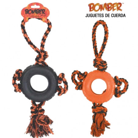 Juguete con Cuerda Bomber Tire Out
