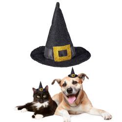 HALLOWEEN Sombrero de Bruja para perro y gato
