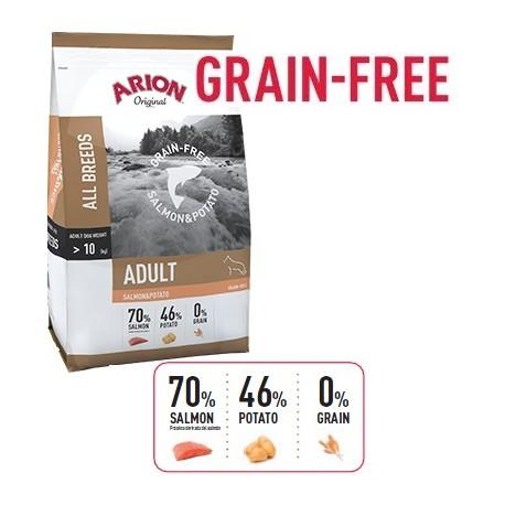 Arion Grain Free Adulto Salmon y Patata