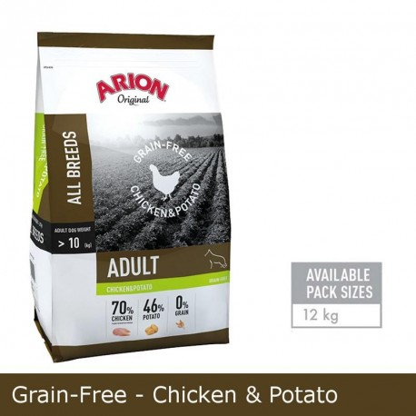 Arion Grain Free Adulto Pollo y Patata