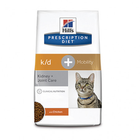 Hills Prescription Diet Feline k/d Mobility con Pollo
