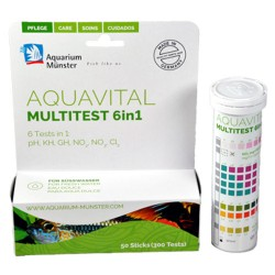 Aquavital Multitest 6 en 1 para Acuarios